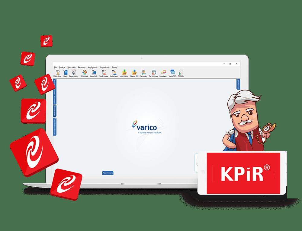 KPiR księga podatkowa